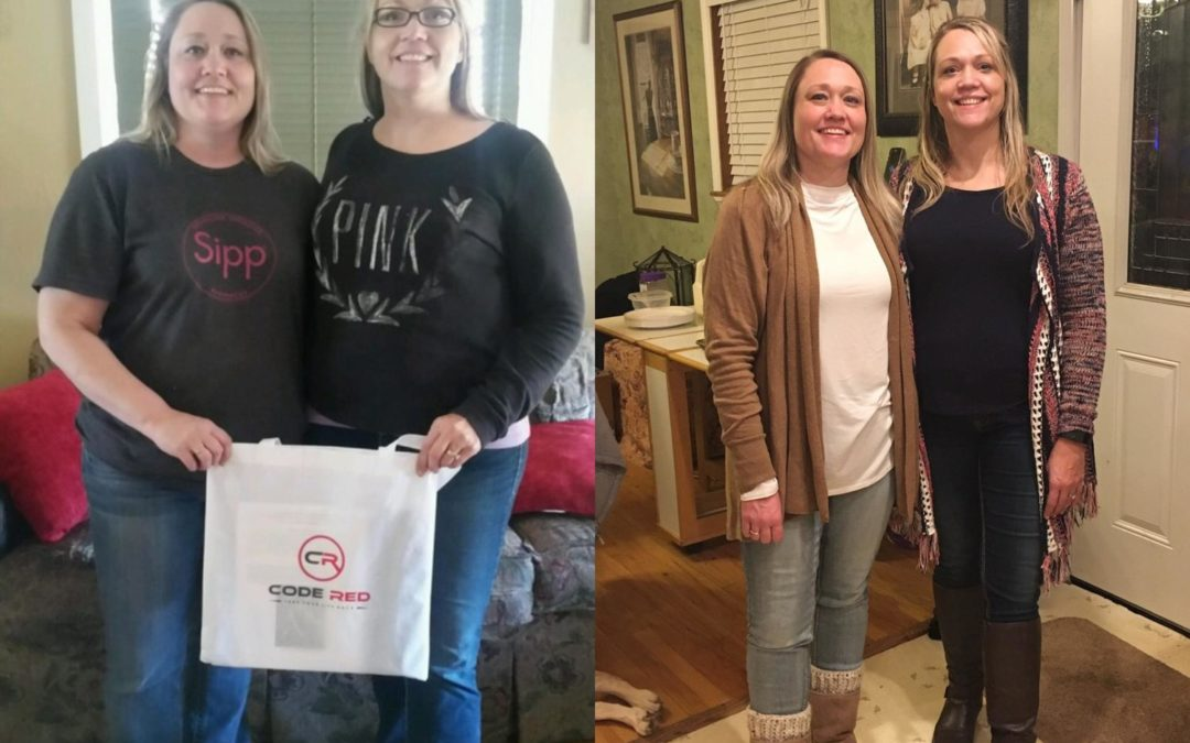 Michelle & Nichole lost 44 & 36 lbs in 90 days!