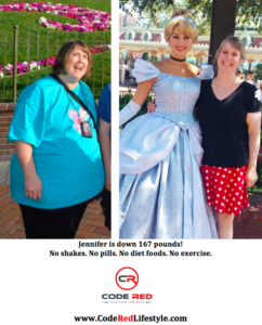Jennifer Reynolds Disneyland Before & After Branded