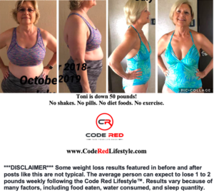 Toni Hinkle Before & After Branded