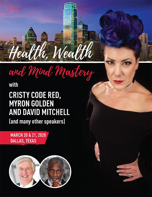 Health Wealth and Mind Mastery Dallas 2020 flyer